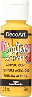 product image for DecoArt Crafter's Acrylic Paint, 2-Ounce, Yellow