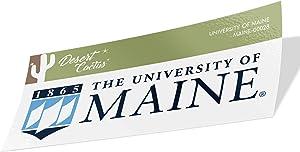 University of Maine UMaine Black Bears NCAA Vinyl Decal Laptop Water Bottle Car Scrapbook (Sticker - 00028)