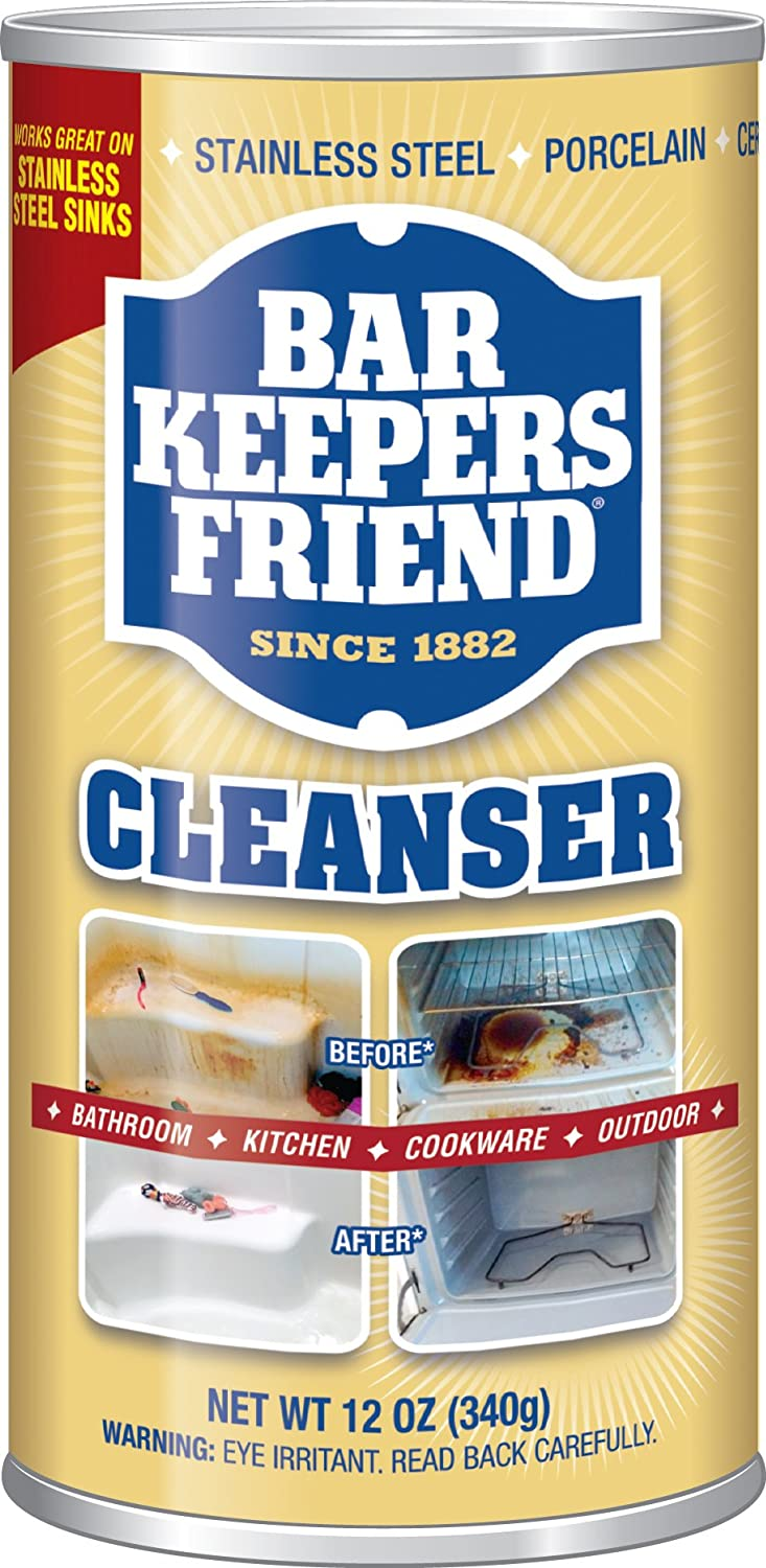 Amazon.com: Bar Keepers Friend Powdered Cleanser & Polish 12-Ounces ...