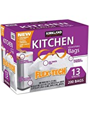 Member's Mark Power Flex Tall Kitchen Simple Fit Drawstring Bags (13 gal, 200 ct.)