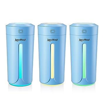 Luftbefeuchter Ultraschall 230ml Befeuchter bis zu 15-25㎡ für Wohn ...