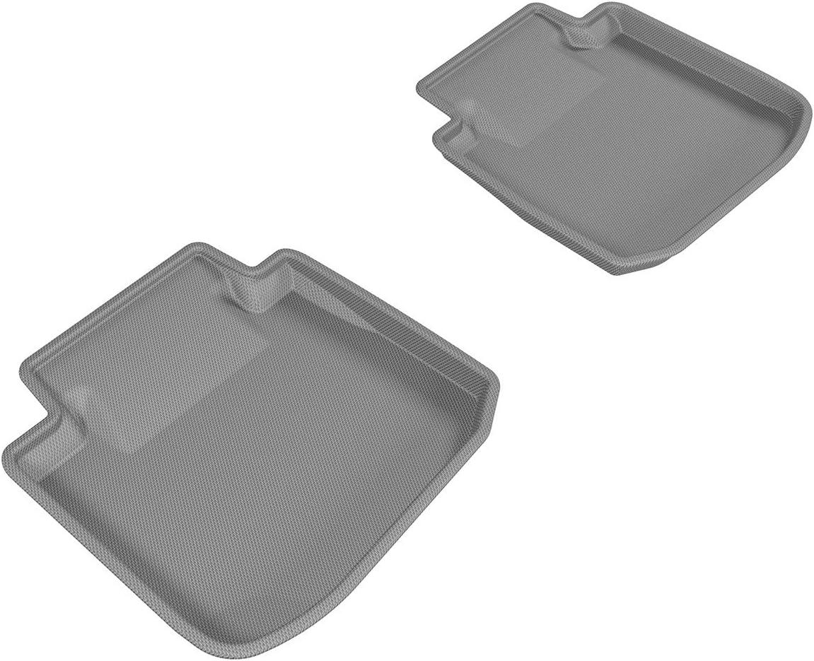 Tan L1SB00421502 Kagu Rubber 3D MAXpider Second Row Custom Fit All-Weather Floor Mat for Select Subaru Legacy//Outback Models
