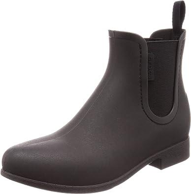 Crocs Womens Leigh Chelsea Rain Boot