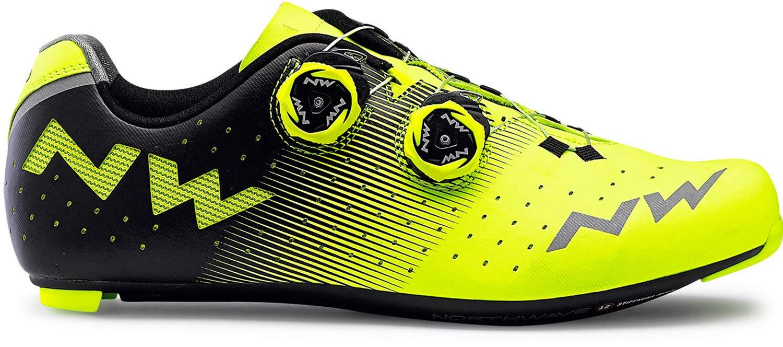 Northwave Revolution Bicicleta de Carretera Zapatos Amarillo/Negro: Amazon.es: Deportes y aire libre
