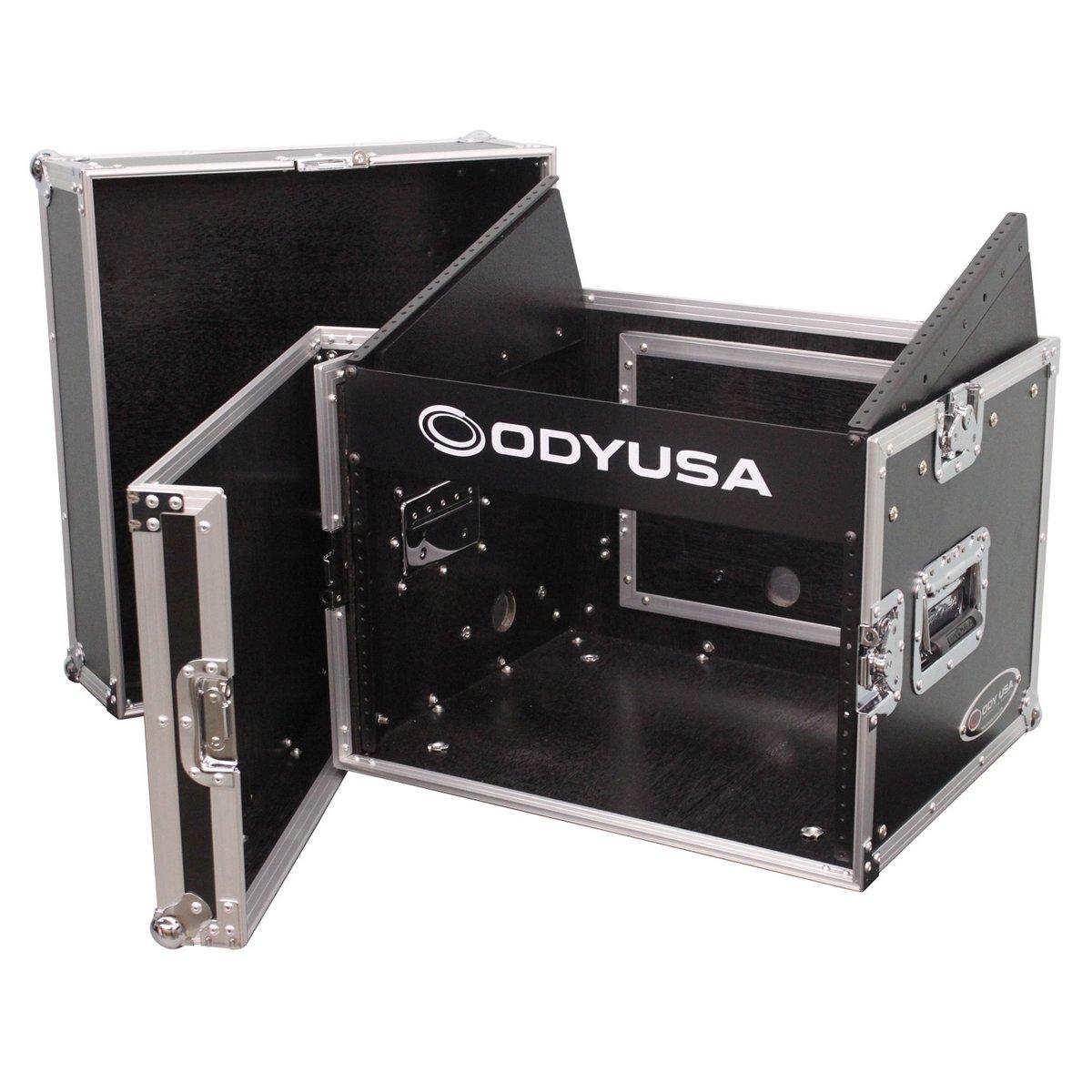 Odyssey Cases FR0806 | 8 Unit Top Slanted Rack Space 6 Unit Bottom Vertical Rack Space