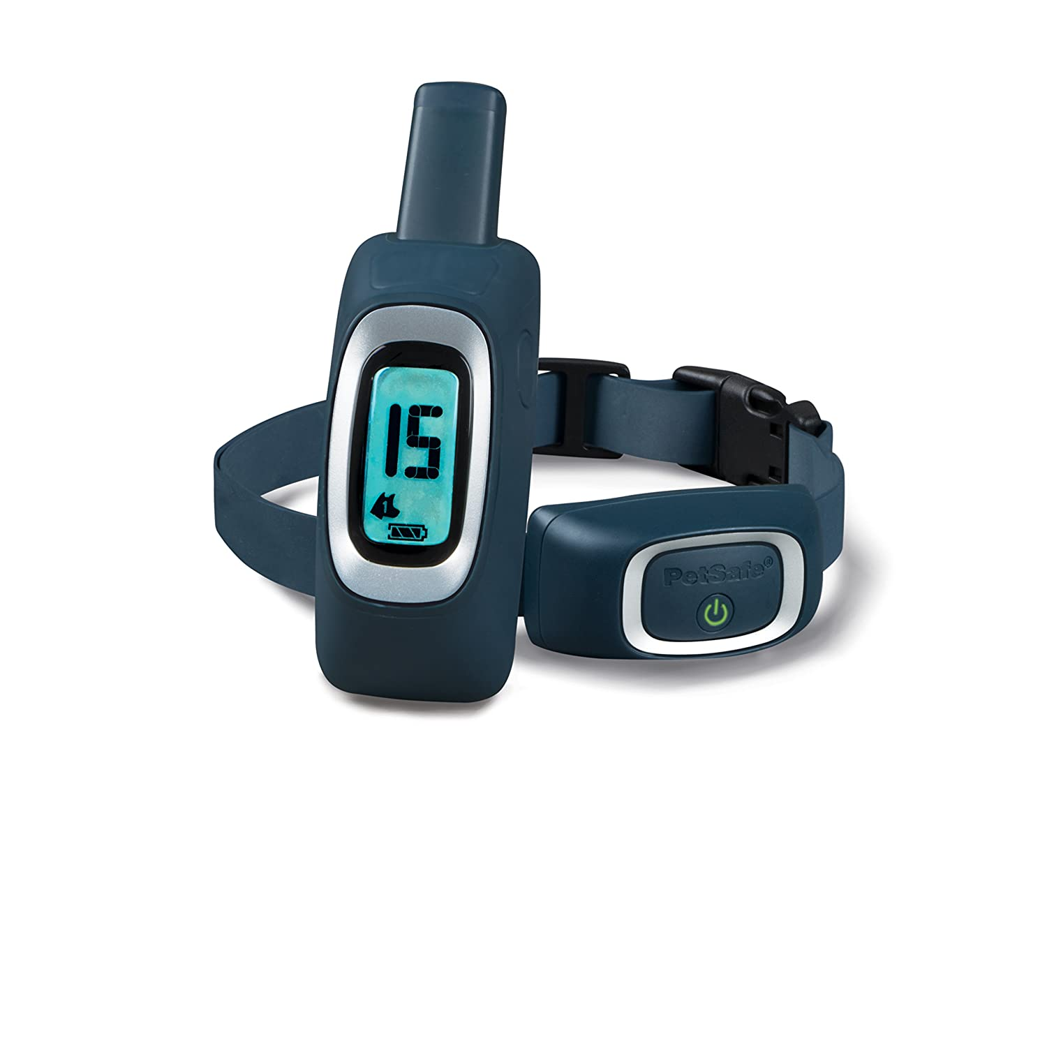 900 Yard PetSafe 900 Yard Remote Trainer, Rechargeable, Waterproof, Tone Vibration   15 Levels of Static Stimulation for Dogs Over 8 lb.