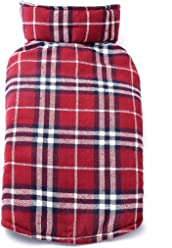 64c054c79e Fosinz Dog Jacket Waterproof Windproof Reversible British Style Plaid Dog  Vest Cold Weather Coat for Small
