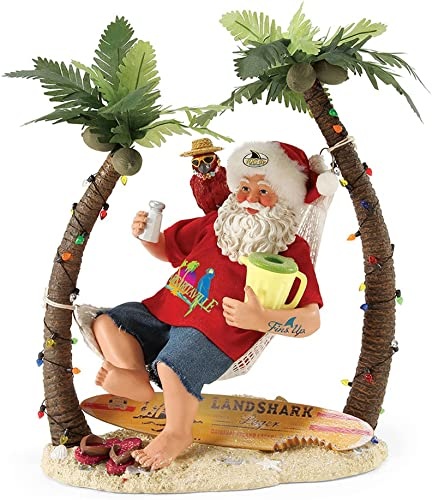 Department 56 Possible Dreams Santa Claus Wastin Away Again Clothtique Figurine, 12 4057317