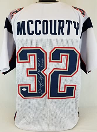 white devin mccourty jersey