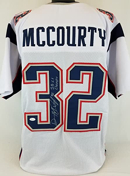 Image Unavailable. Image not available for. Color  Devin McCourty  quot SB  LI Champs quot  Patriots Signed White Jersey JSA Witness Autograph bed2851c9