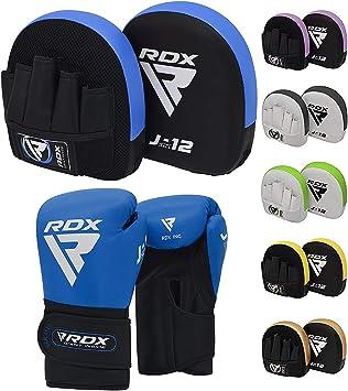 RDX Kinder Pratzen Kampfsport Boxhandschuhe MMA Boxen Schlagpolster Training Pad