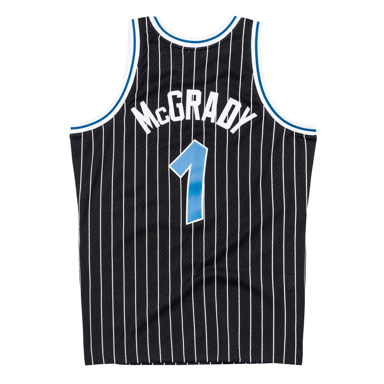 f36b2b30758 Mitchell   Ness Tracy McGrady  1 Orlando Magic 2003-04 Swingman NBA Trikot  Schwarz