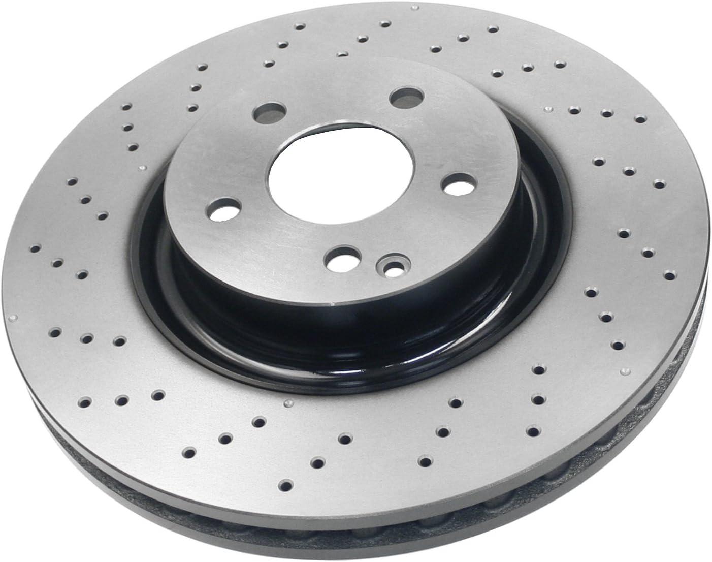 BECKARNLEY 083-3657 Premium Brake Disc