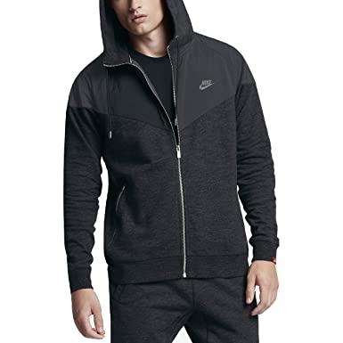0459d4d333cd Amazon.com  Nike Sportswear Windrunner Men s Full-Zip Hoodie  Clothing