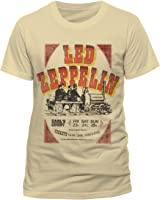 Led Zeppelin Earls Court Tickets Unisex T-shirt (Natural)