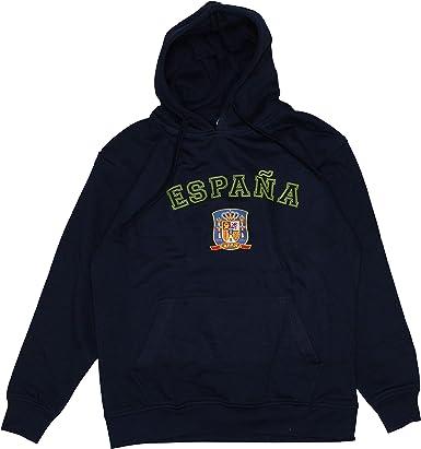 I MADRID I LOVE MADRID Sudadera con Capucha Algodón Unisex - España - Escudo Oficial Bordado sobre Tejido: Amazon.es: Ropa y accesorios