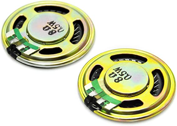 Woofer 8 ohm W 0,5 Gikfun D36mm altavoz para Arduino (2 unidades ...