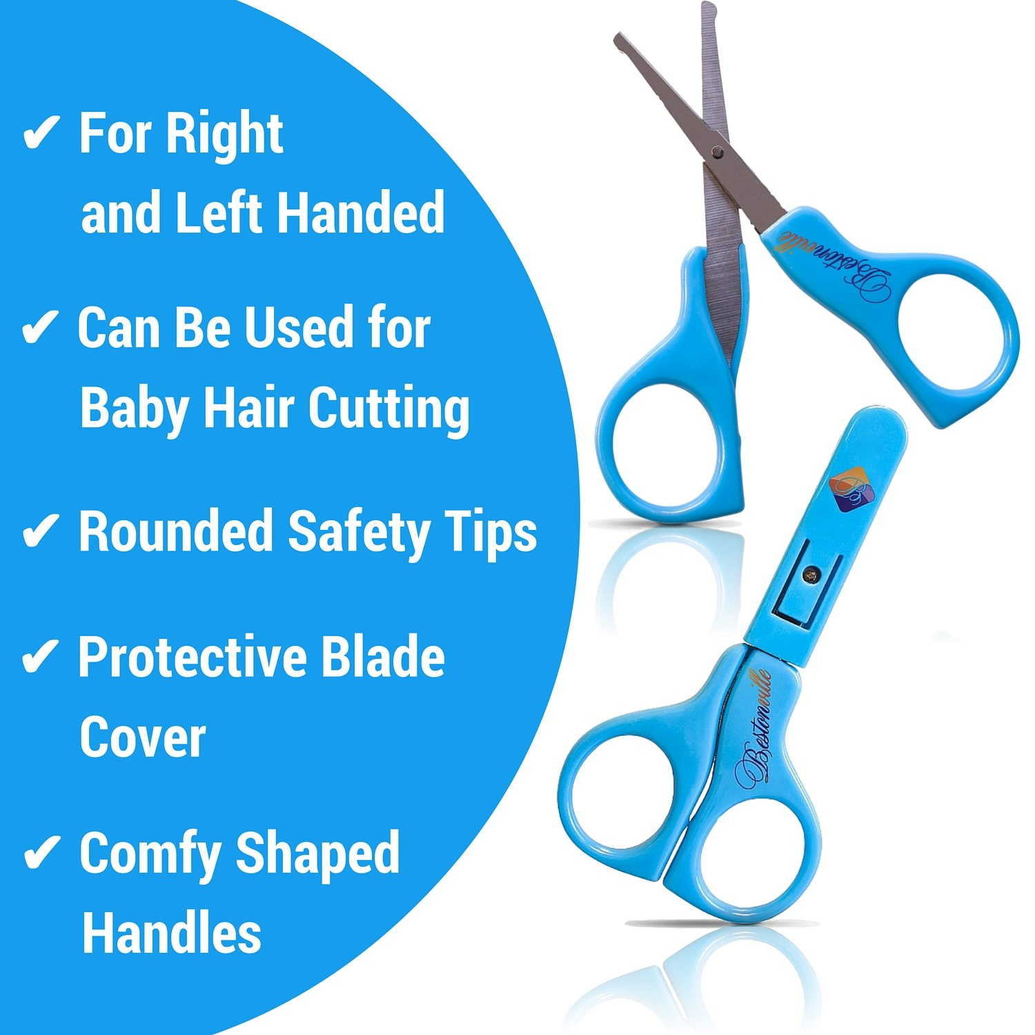 Amazon.com : Safety Baby Nail Clippers Set with Scissors and File ...