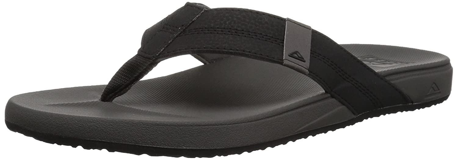 TALLA 37.5 EU. Reef Cushion Bounce Phant Grey, Chanclas para Hombre