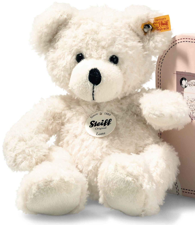 Steiff Lotte Teddy Bear in Suitcase, White
