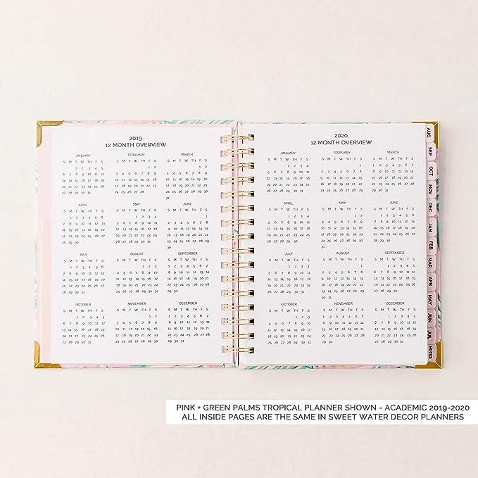 Sweet Water Decor planificador de oro rosa iridiscente ...