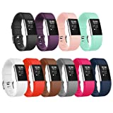 Amazon Price History for:For Fitbit Charge 2 Bands, Adjustable Replacement Sport Strap Bands for Fitbit Charge 2 Smartwatch Fitness Wristband