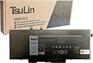 TsuLin 3HWPP Laptop Battery Compatible with Dell Latitude 5401 5501 5411 5511 Precision 3541 3551 Series 010X1J 10X1J 01VY7F 1VY7F 15.2V 68Wh 4250mAh