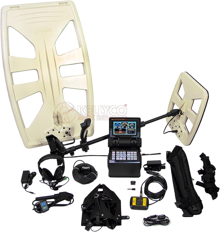 Golden King DPR Plus Nokta Detector de Metales Profesional: Amazon ...