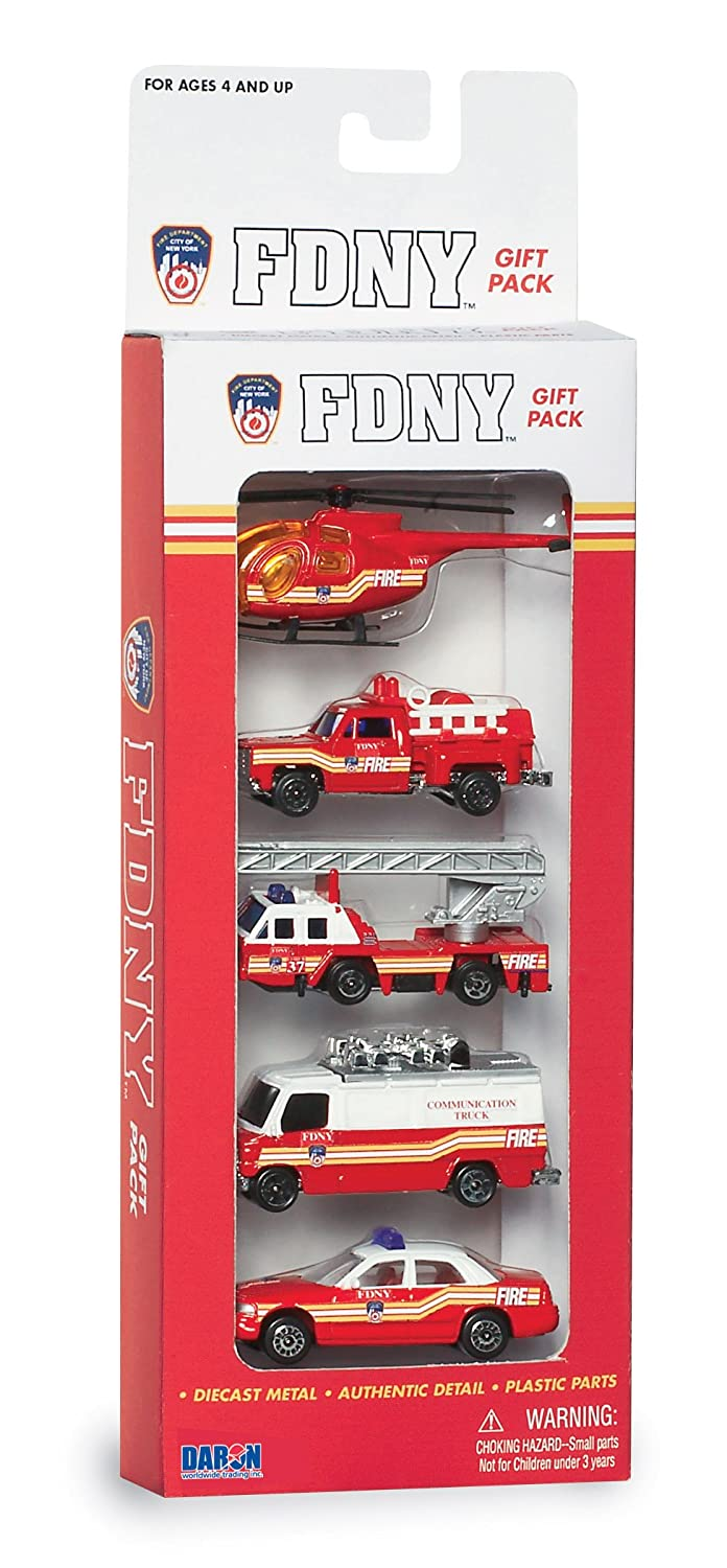 Daron FDNY Vehicle Gift Set, 5-Piece Daron World wide Trading Inc. RT8750