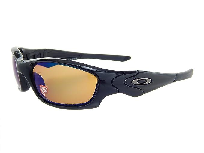 9c192957af5 Oakley Straight Jacket 24-018 Polish Black Polar Shallow Blue ...