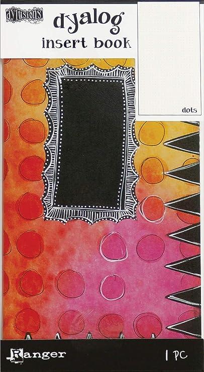 9 Options of Dylusions Dyalog Insert Book by Ranger Dyan Reaveley AgendaGridsLinedDotsBackgroundBlankHandwriting Lines 4.375X8.25