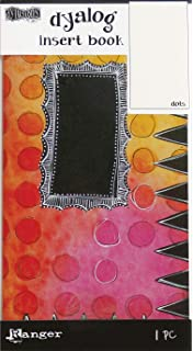 3 Per Pack Multicolor Ranger DYT60895 Dyan Revelrys Dylusions Dyalog Printed Pocket Inserts