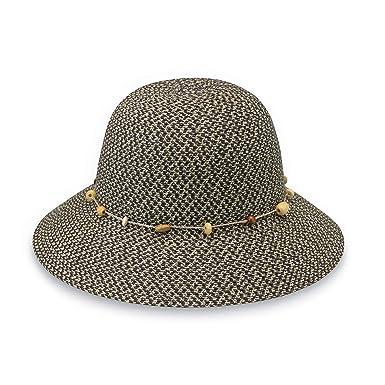 d18f1879 Wallaroo Hat Company Women's Naomi Sun Hat – UPF 50+, Packable, Modern Style