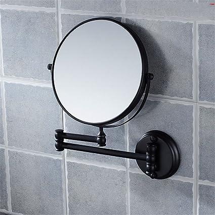 Specchio Ingranditore Arredo Bagno.Qinlei Un Antico Bagno Accessori Del Muro Nero E Un