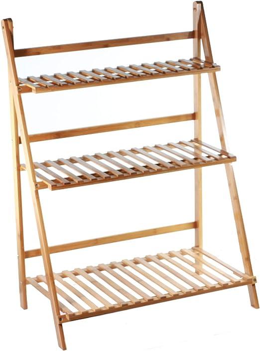 Escalera soporte de pantalla de madera para plantas, escalones ...
