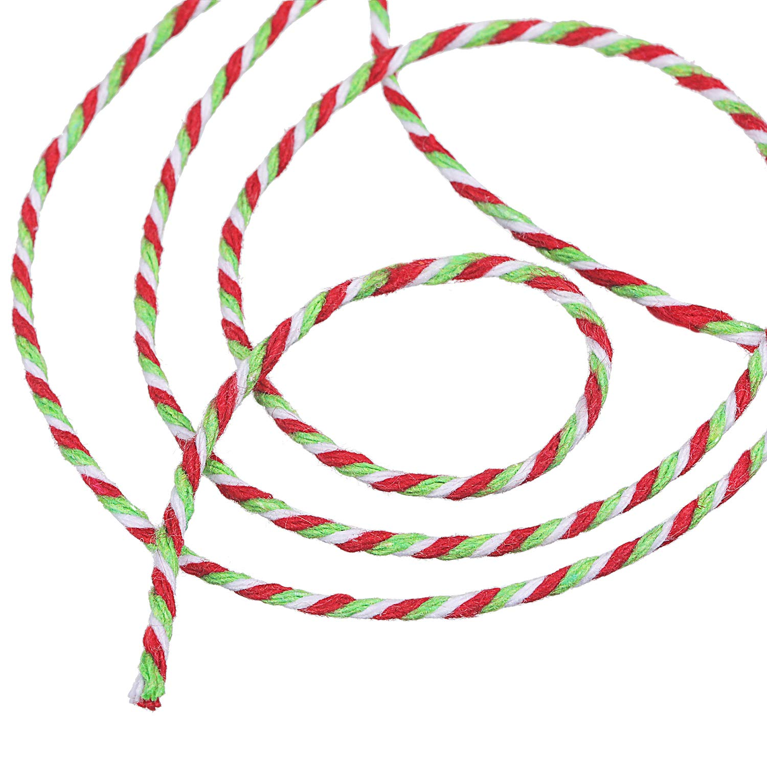 Cooking String 328 Feet Bakers Twines for Arts Crafts and Gift Wrapping eBoot Cotton Kitchen Twine Christmas Red and Green