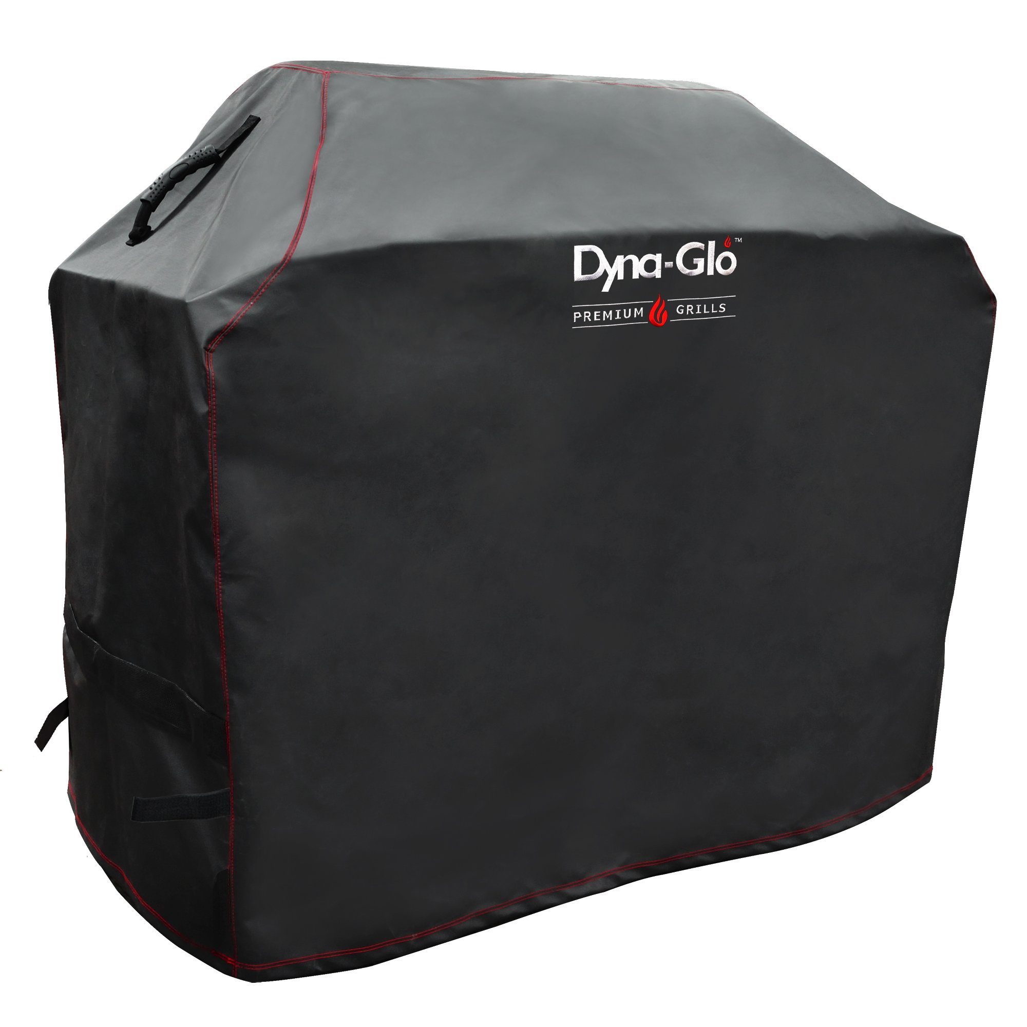 Dyna Glo DG500C Premium Grill Cover, Black, Large by Dyna-Glo
