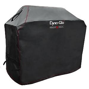 Dyna Glo DG500C Premium Grill Cover, Black, Large