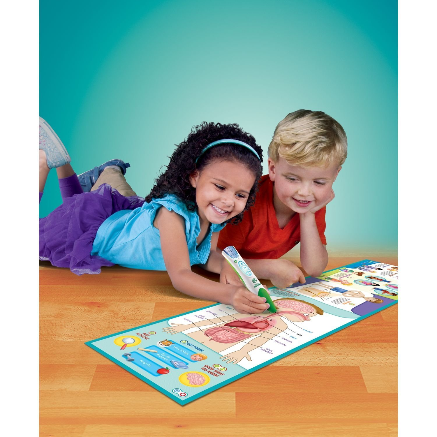 LeapFrog LeapReader Interactive Human Body Discovery Set (works with Tag) by LeapFrog (Image #6)