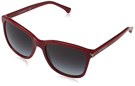 205df406043 Image Unavailable. Image not available for. Color  Emporio Armani EA4060  54568G Sunglasses Red