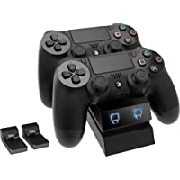 Venom PlayStation 4 Twin Charge Docking Station - Black (PS4)