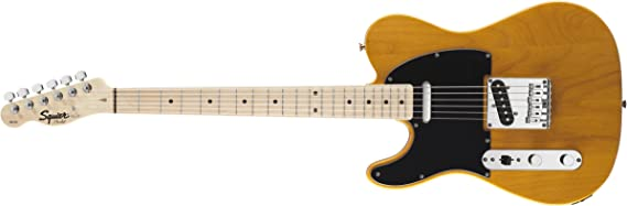 Squier by Fender Affinity Telecaster Beginner Electric Guitar - Left Handed -Maple Fingerboard