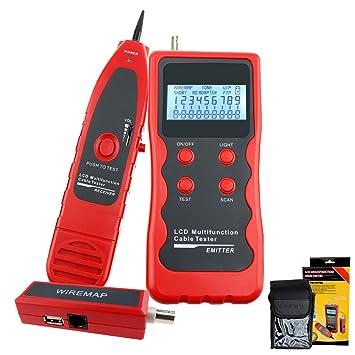Red Ethernet RJ45 RJ11 STP UTP 5E 6E LAN Teléfono alambre coaxial BNC USB y la