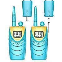 QNIGLO Q188 Walkie Talkie Adultos Recargable USB,8 Canales PMR446 Comunicación Bidireccional,Equipo de Espía,Aventuras…