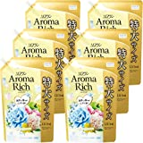 【ケース販売 大容量】ソフラン アロマリッチ 柔軟剤 フェアリー(ウォータリーフラワーアロマの香り) 詰め替え 1210ml×6個