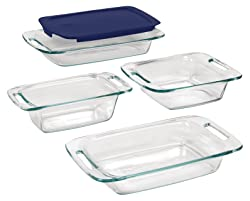 Pyrex EasyGrab Glass Bakeware Set