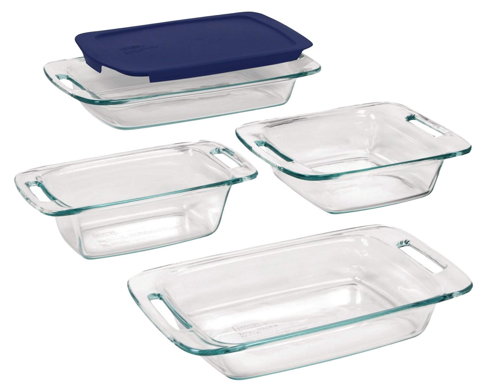 Pyrex Easy Grab Glass Bakeware Set (5-piece) by Pyrex