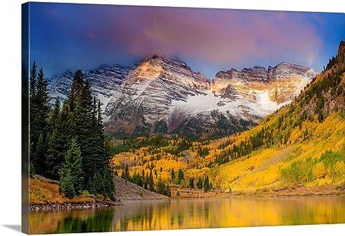 Colors of Colorado Canvas Wall Art Print