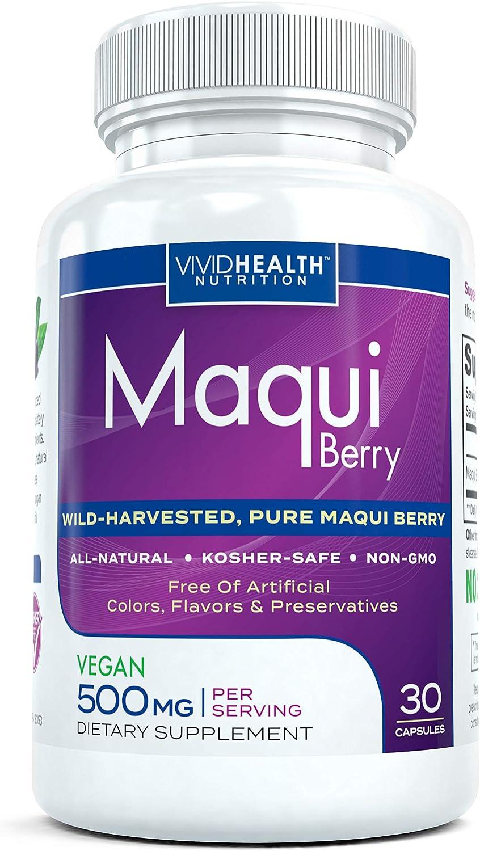 Amazon Com Pure Maqui Berry Extract Capsules Pharmacist