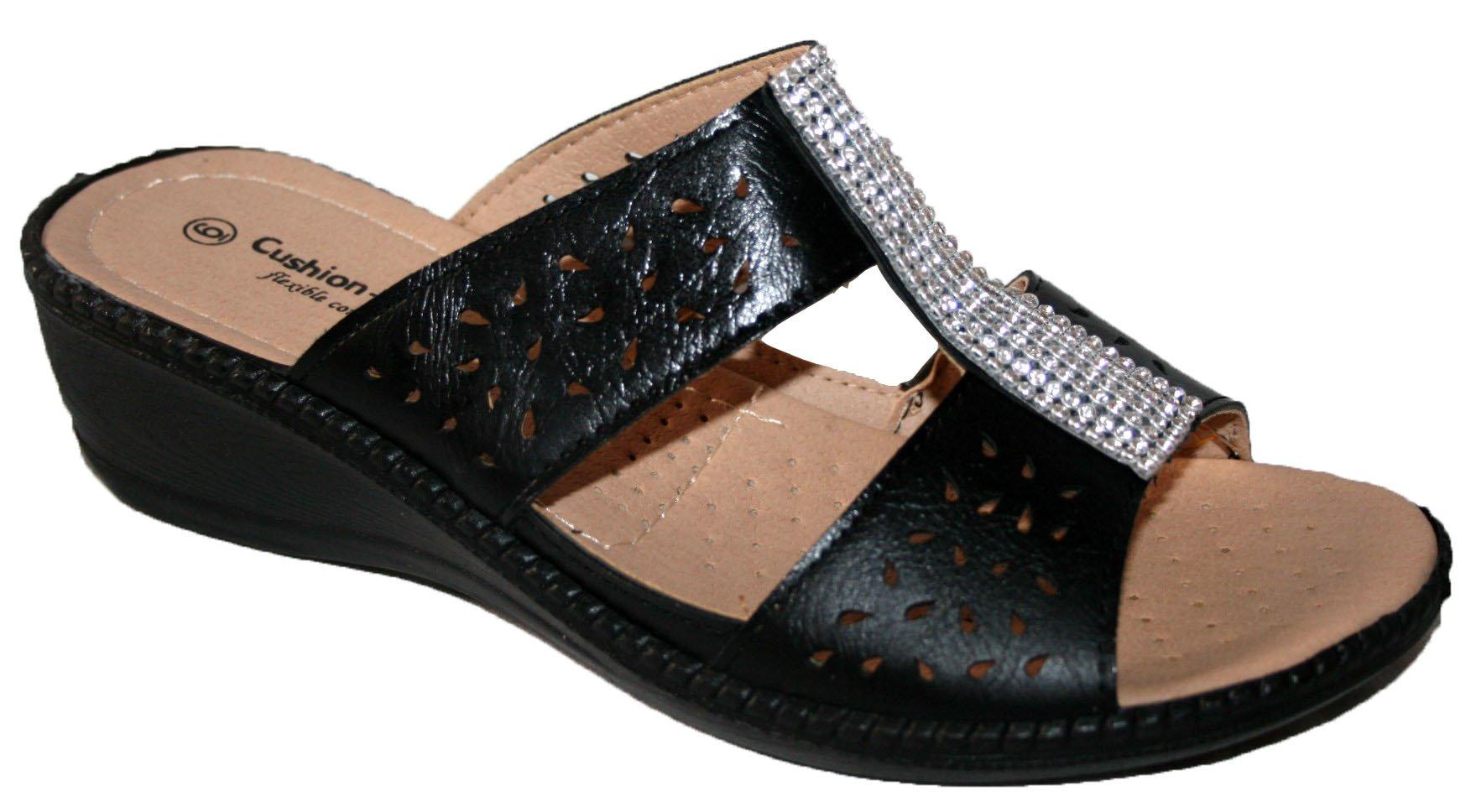 Cushion Walk Ladies Summer Slip ON Mule